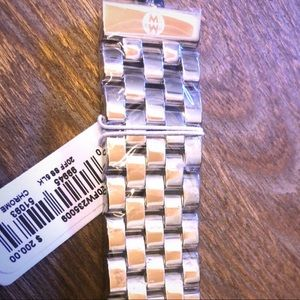 Michele 5 link 20mm Deco band NEW